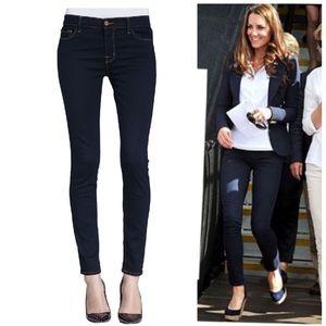 J brand ink skinny leg dark wash stretchy jeans